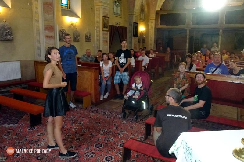 Mladí sprievodcovia v Malackách
