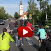 Video zo spoločnej cyklojazdy