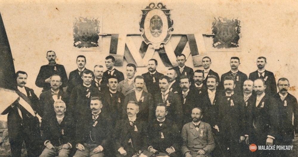 Novoročný pozdrav z roku 1900