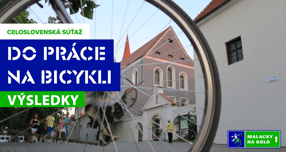 V máji jazdili Malacky do práce na bicykli