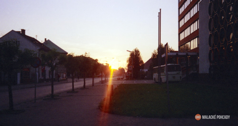 Stroj času - Radlinského ulica