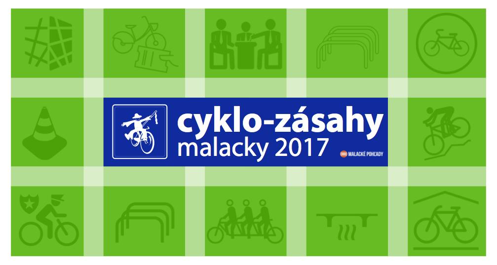 Navrhnite malacké cyklozásahy 2017