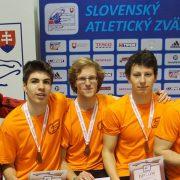 Atléti z Malaciek opäť úspešní na majstrovstvách Slovenska