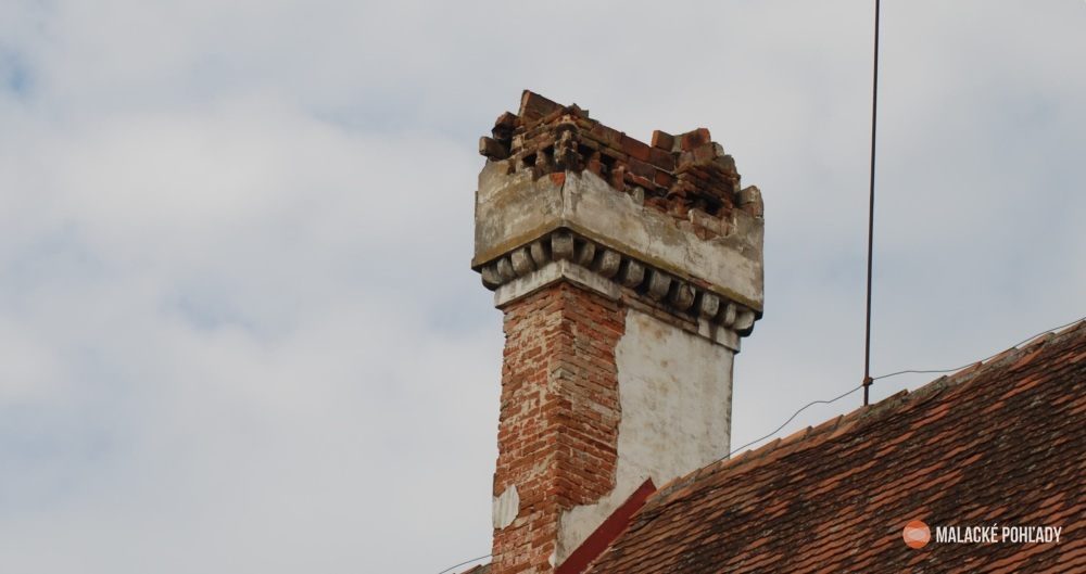 Príspevok k rekonštrukcii komínov pálffyovského zámku v Malackách