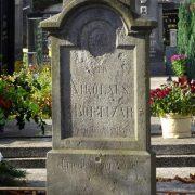 Boltizárov náhrobok na starom cintoríne