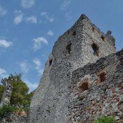 Plavecký hrad a jeho niekdajšie podhradie