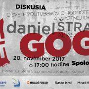 """O svete youtuberov, o hodnote súkromia a vlastnej identity - CHILL OUT s Danielom """"Gogo"""" Štrauchom"""