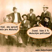 Päť dôvodov, prečo venovať 2 % z dane Malackým pohľadom
