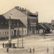 Námestie okolo Severínka a hlavná ulica Malaciek pod lupou