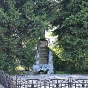 Hrob Antona Polakoviča na starom cintoríne v Malackách
