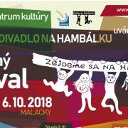 Program divadelného festivalu Zejdeme sa na hambálku 2018