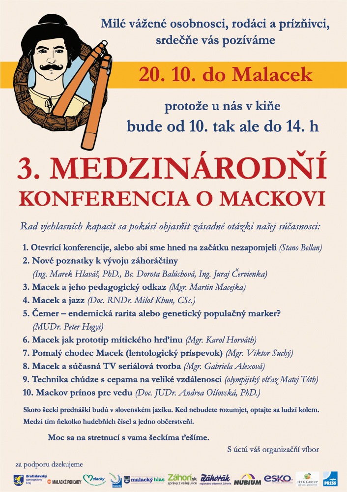 3. medzinárodňí konferencia o Mackovi, Malacky