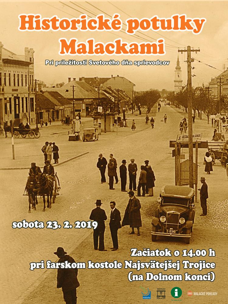 Historické potulky Malackami - zima 2019