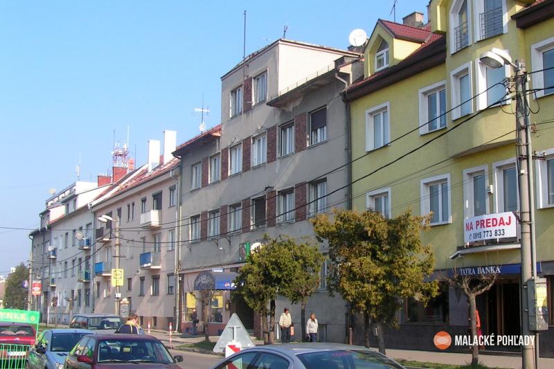 Nájomný dom Rudolfa Blažíčka, Malacky