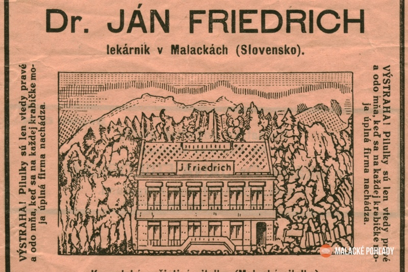 Lekáreň Friedrichovcov Malacky