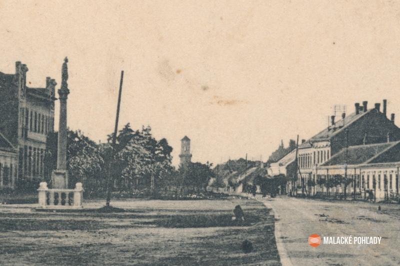 Záhorácka ulica Malacky