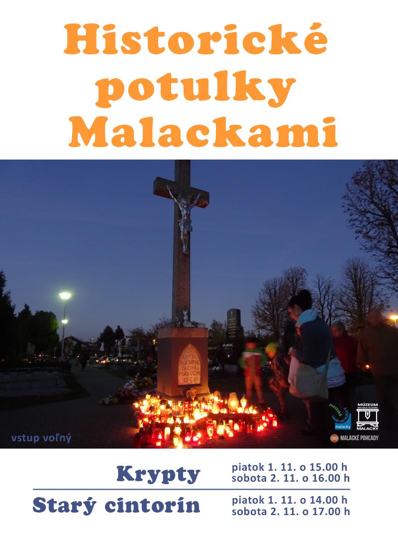 Historické potulky Malackami - dušičky