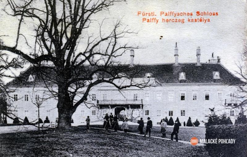Pálffyovský kaštieľ v Malackách, Pálffyovský zámok v Malackách