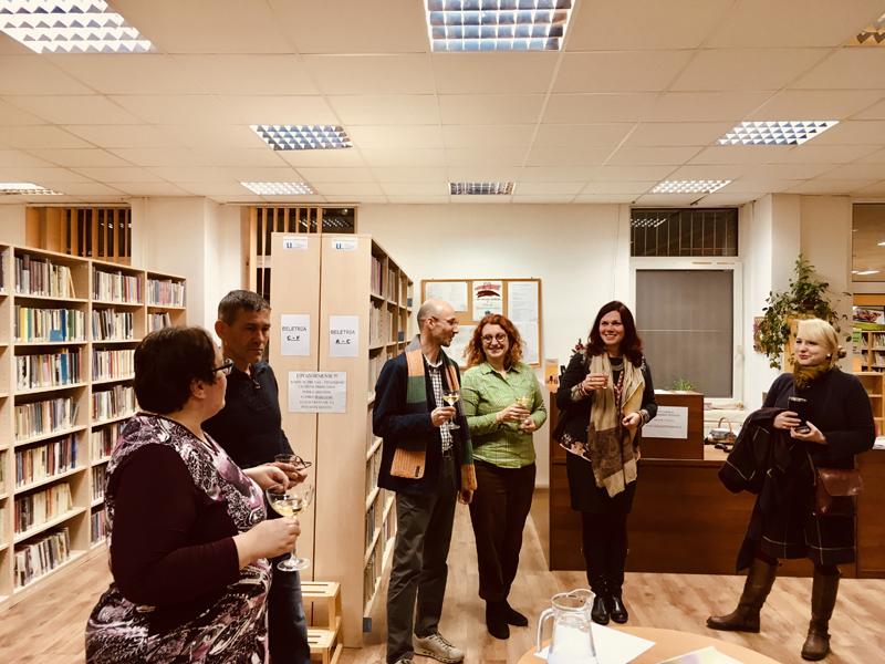 Otvorenie knižnice Malacky