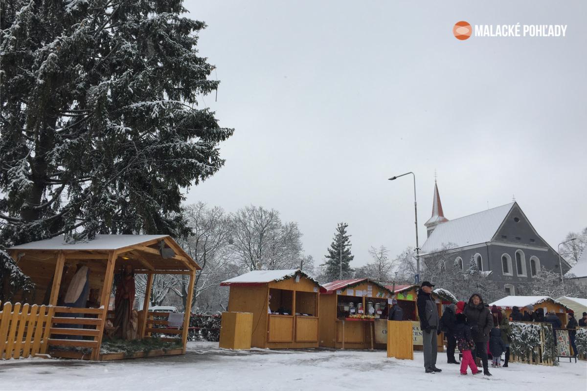 Malacky - Vianočné trhy 2018
