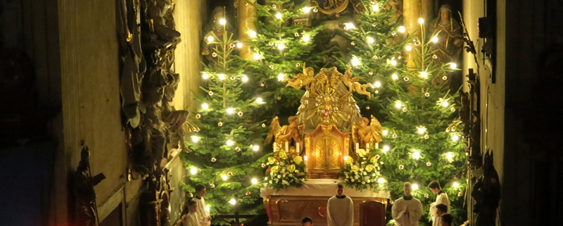 Vianoce v Malackách - františkánsky kostol