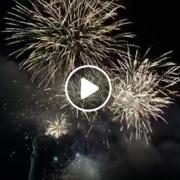 VIDEO: Novoročný ohňostroj 2020