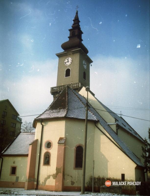 Malacky 2010, farský kostol Najsvätejšej Trojice