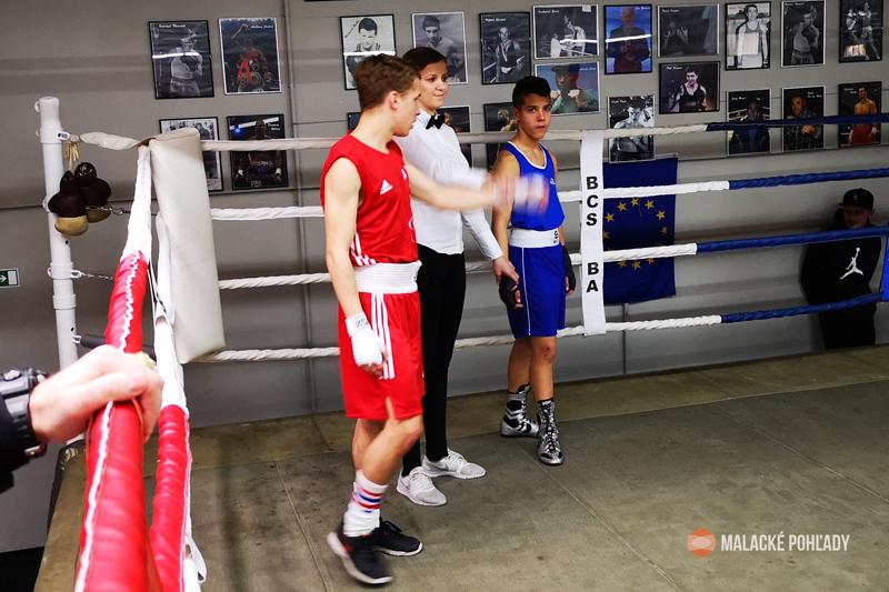 Víťazstvo Tadeáša Voltemara v 2 kole vzdaním súpera BC Galanta Sebastiana Ružoviča