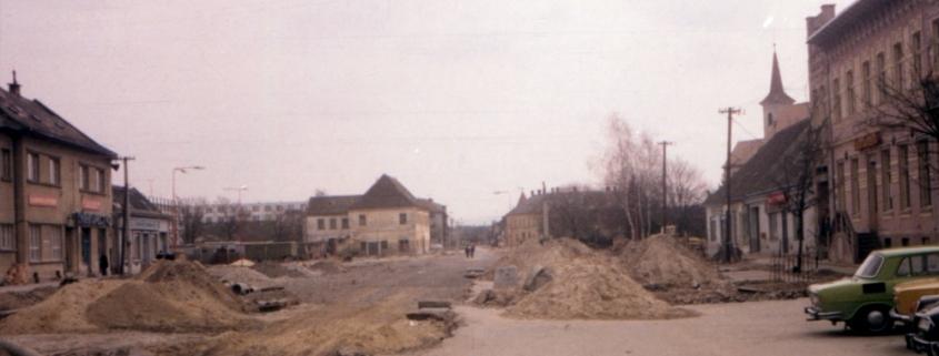 Záhorácka ulica a križovatka, Malacky