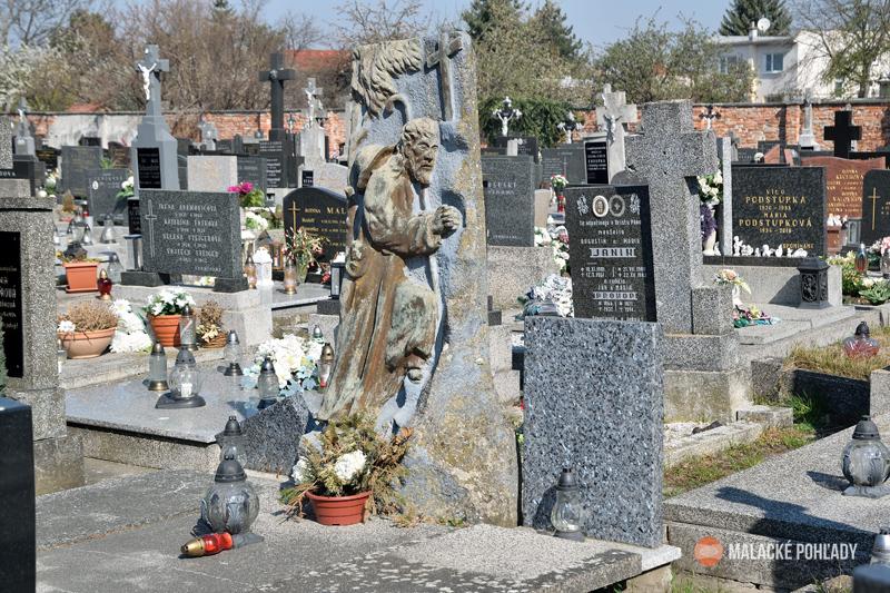 Starý cintorín v Malackách