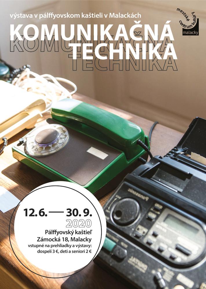 Kaštieľ v Malackách, výstava Komunikačná technika