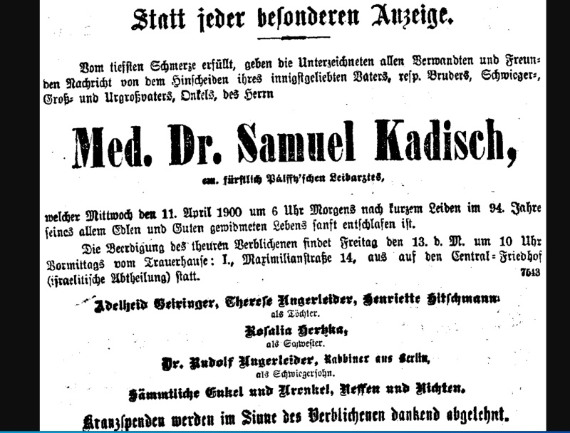 Samuel Kadisch