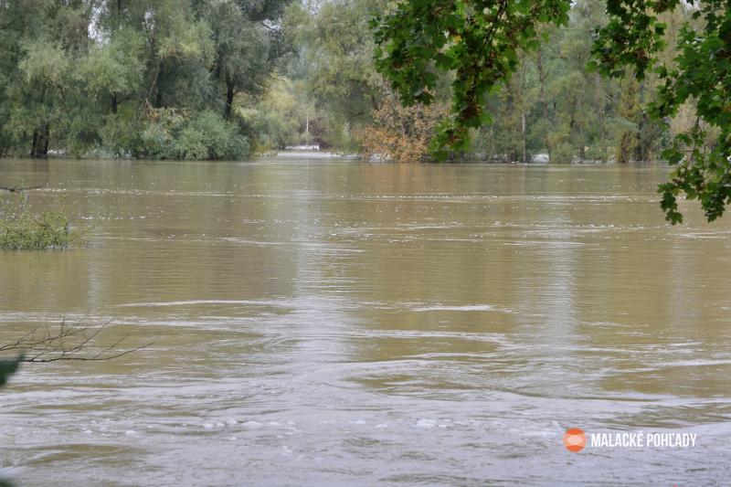 Rieka Morava pri Gajaroch, 2020