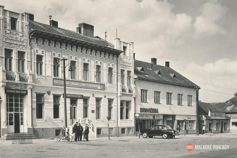 Staré časy v Malackách - Tatra, drogéria, hračkárstvo