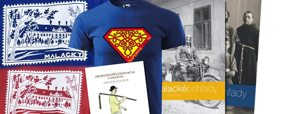 Malacké pohľady - tričká a knihy