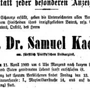 Samuel Kadisch - príbeh pálffyovského lekára v Malackách