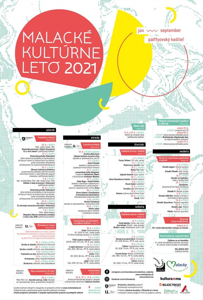 Kultúrne leto 2021 Malacky