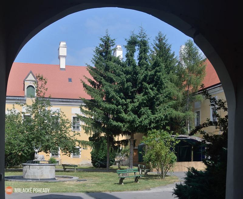 Nádvorie zámku Pálffyovcov Malacky, 2021